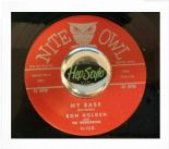 "45Re ✦ RON HOLDEN ✦ ""My Babe / Love You So"" Hot Black Rocker R&B Dancer ♫"